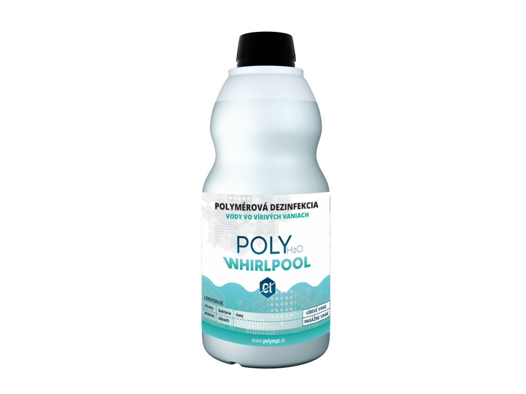 Dezinfekcia vody 1L - bezchlórová chémia pre vírivé vane