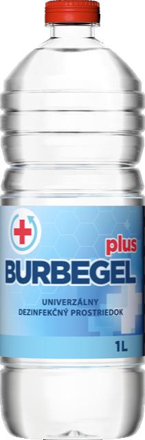 Alkoholová dezinfekcia BURBEGEL plus - 1L 70%.