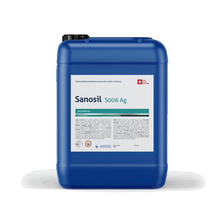 Sanosil S006/DETECTAIR, balenie 5kg - Dezinfekcia športových potrieb,odevov a chovateľských potrieb proti proti vírusom, baktériám a plesni