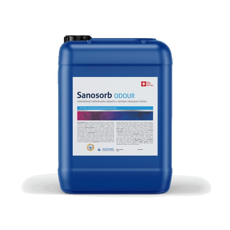 Sanosorb ODOUR, balenie 25kg - neutralizáciu nepríjemných zápachov biologického pôvodu ako hniloba, odpad, zvieracie pachy, atď.